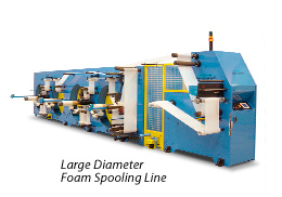 Large Diameter Foam Spooling Line